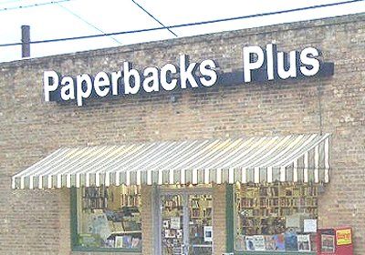 Photo: Paperbacks Plus, bookstore exterior, Dec. 2012, Mesquite, Texas USA 75149. CLICK HERE TO VISIT OUR FACEBOOK PAGE.